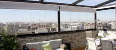 Cortinas de cristal Lumon para terrazas