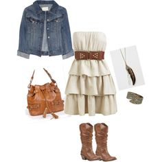 Summer outfit. Must have the dress