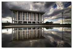 National Library of Australia - Canberra by tassie303, via Flickr