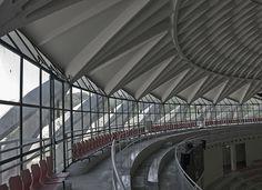 Palazzetto dello Sport - Flaminio - Pier Luigi Nervi by barlongue, via Flickr
