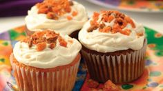 BUTTERFINGER® Cupcakes | Holidays