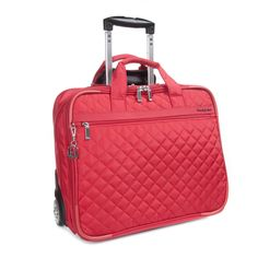 Great Rolling Laptop Bag for HR Pros: Cindy Trolley