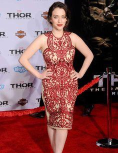 12. Kat Dennings, actrice du film Thor