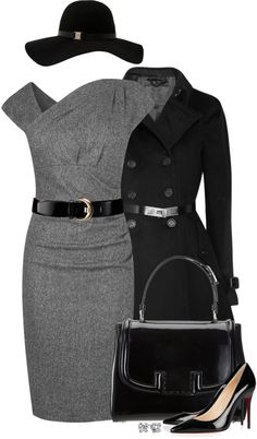 """Old School Glamour"" by partywithgatsby ❤ liked on Polyvore"