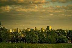Skyline of Media City UK by Jakub Hajost on 500px