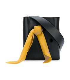 Calvin Klein 205W39NYC Bandana Bucket Bag - Black Adjustable Shoulder Strap Bag