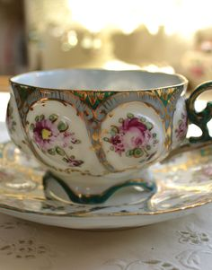 ♔ Such a lovely tea cup