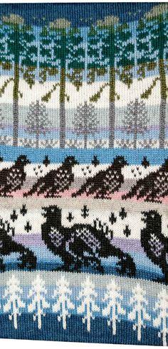 Neuleet lahjaksi naiselle tai miehelle   Päivineule, Lieksa Knitting Charts, Knitting Patterns, Fair Isle Pattern, Projects To Try, Cross Stitch, Quilts, Blanket, Create, Crochet