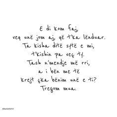 Lyrics containing the term: Albanian
