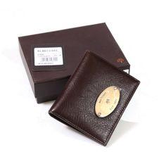 Mulberry Women Dark Coffee Wallet