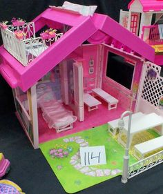 Barbie Fold 'n fun house! The first big thing I ever bought with my own money!