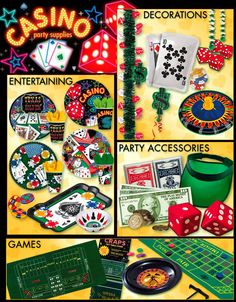 Casino Party Favors | Casino Party Supplies - King Party Center