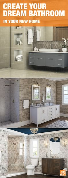 Click-through to discover inspiring bathroom ideas for your new space!
