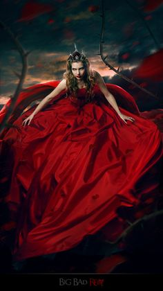 Red Queen by Irina Istratova. The Scarlet Queen married the Dragon Prince and gave birth to the line of Witch Queens who rule on the Mountain of the Moon.