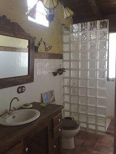 Decor Tutorial and Ideas Bathroom Interior Design, Interior Design Living Room, Glass Block Shower, Tub To Shower Remodel, Small Bathroom With Shower, Bathroom Renovations, Home Decor, Ideas, Google
