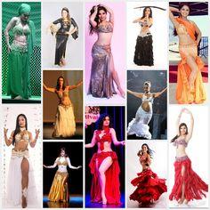 Atelier Yasmin Hassanein - Trajes para Dança do Ventre - Bellydance Costumes: Clients.... bellydance costumes by Yasmin Hassanei...