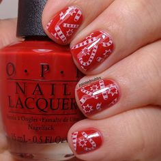 Painted Nubbs: Wrapping Up The Holiday Manis