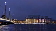 Spira det nya kulturhuset i Jönköping Sweden