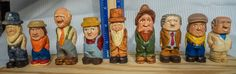 """""""Little people"""" carved by Harold Lee. Photo by Aaron Lee (http://www.explorediscovershare.com)"""