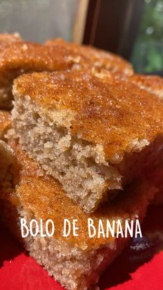 Fun Baking Recipes, Dessert Recipes, Cooking Recipes, Bolo Banana, Happy Foods, Diy Food, I Love Food, Food Dishes, Food Porn
