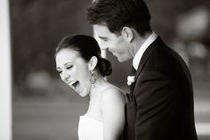 Impromptu wedding portrait.  Love!