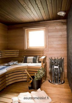 Everything you need for a relaxing sauna bath