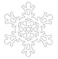 Bildergebnis für Schneeflocke vorlage