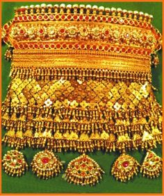 Traditional rajasthani choker necklace(aad)