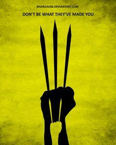 Logan by on DeviantArt Old Logan, Logan Wolverine, 2017 Images, Minimalist Poster, Film Posters, X Men, Marvel Comics, Avengers, Poster Designs