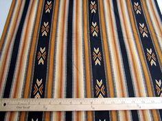 Desert Dreams Indian Blanket Stripe by Loriscountryfabrics on Etsy, $8.95