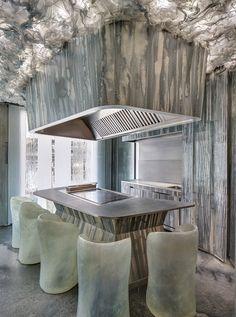 RCR arquitectes conceives experimental enigma restaurant in barcelona for albert adrià