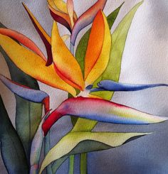 Birds of Paradise by janegillette on Etsy, $240.00