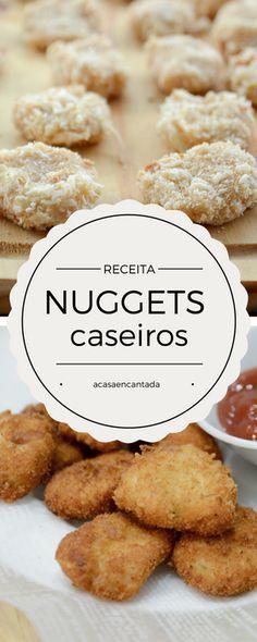 Receita de Nuggets saudáveis e caseiros