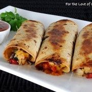 ground beef ad cheese taquitos