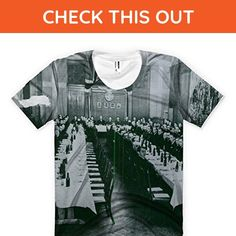 Beer festivity of Quisling´s political party in Oslo, Norway. allover printed American Apparel Women's T-shirt - Food and drink shirts (*Amazon Partner-Link)