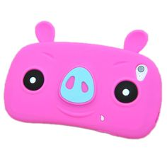 Happy pigs silicone case for iphone 5