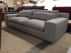 """""""Amalfi"""" Sofa - Every style can be customized in virtually any way possible!  www.MonarchSofas.com More custom pieces on our Houzz profile! http://www.houzz.com/pro/thesofaworks/monarch-sofas"""
