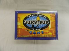 2003 SURVIVOR the Game  New Sealed - Outwit Outplay Outlast #SurvivorProductions