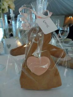 Wedding Favours & Name places - Gingerbread
