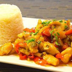 Chicken Sweet'n'Sour #recipes #Rezepte #Kochrezepte #Kochblog #NicisKochblog #NomNom #FoodBlog #Foodporn Nom Nom, Food Porn, Pork, Chicken, Sweet, Ethnic Recipes, Chinese, Cooking Recipes, Kale Stir Fry