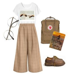 """Artist"" by yanni-loenders ❤ liked on Polyvore featuring Toast, Fjällräven, Dr. Martens and ZeroUV"