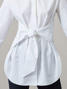 Korean Fashion Dress, Fashion Outfits, High Street Fashion, Sleeves Designs For Dresses, Saree Shopping, Blouse Designs, Clothes, Women, White Blouses