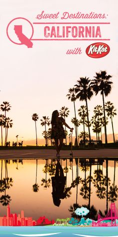 We teamed up with avid traveler, @rayawashere to enjoy the new California-inspired KIT KAT® Strawberry Flavor beachside and to take an impromptu sunset cruise in Venice Beach! Discover all the new flavors from The Hershey Company: REESE'S Honey Roasted Flavored Peanut Butter Cups, HERSHEY'S KISSES Coconut Almond Flavored Candy, TWIZZLERS Key Lime Pie and Orange Cream Pop Flavored Twists, HERSHEY'S Cherry Cheesecake Flavored Bar, and PAYDAY BBQ Flavored Bar!
