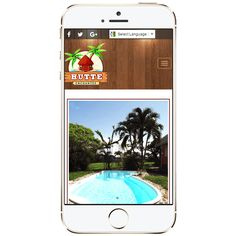 Mobile friendly vacation rental website - HUTTE Enchantee - Designed by Personal website Mobile Friendly Website, Professional Website, Website Designs, Design Development, Web Design, Vacation, Projects, Log Projects, Vacations