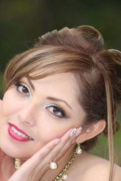 Maquillaje para novia con aerografo. Maquilaje y Peinado: Belleza Touch Modelo: Rubi Foto: Bruno Feria