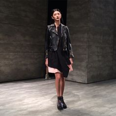 iiJin at New York Fashion Week AW15. See more #nyfw http://seen.co/event/ny-fashion-week-fw15-day-7--2015-3982/highlight/160262