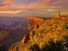 Watchtower, South Rim, Grand Canyon, Arizona