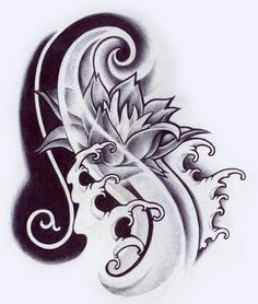 drawing i did for a tattoo that i did Maybe soon picture of the tattoo. It was a sketch, but i liked it, so i tried to refine it a bit.