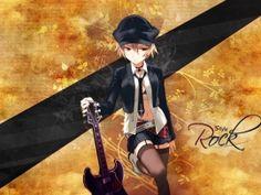Rock Style Anime Girl Wallpapers | Free Desktop Wallpapers