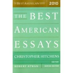 "Ponteri's essay ""Listen to this"" was mentioned as a notable essay in The Best American Essays 2010. It's also included in Wedlocked."